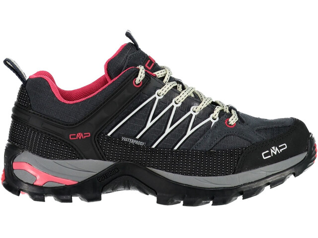 CMP Campagnolo Rigel Low WP Trekking Shoes Women Antracite-Off White